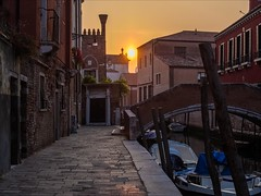 P9242659-Edit Italy Venice (Dave Curtis) Tags: 2013 em5 europe italy omd olympus venice sunset canal