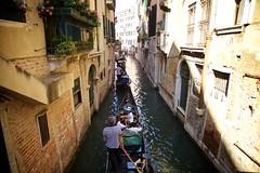 Gondolier Jam (cookedphotos) Tags: canon 5dmarkii travel italy venice venezia gondola gondolier boats canal streetphotography