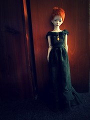 Dark summer time (tarengil) Tags: bjd abjd doll asian ws dollmore zaoll luv white skin resin dress summer