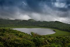 Grand Etang Lake ! (Andy Johnson Photos) Tags: lake grenada landscape clouds green water caribbean crater volcano