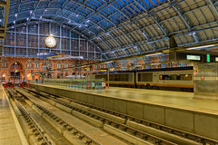 St Pancras International (perkijl61) Tags: eurostar stpancras train station england
