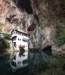 House of the Dervishes | Blagaj (craigbennett.me) Tags: mostar herzagovina dervish blagaj rock reflection tradition