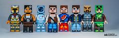 Lego Minecraft Skin Pack (gnaat_lego) Tags: hellobricks lego minecraft review skinpack gnaat