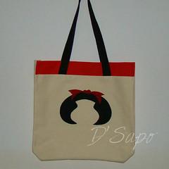 Sacola (D'Sapo) Tags: bag sacola appllique aplique quilting collage pontilhado cola mafalda cats cat lettering monograma oak