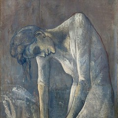 I feel with her, not for her. When I go to the Guggenheim to see her, for a while I feel ashamed to look at other paintings, because she commands such a different kind of respect. This woman's work.     #picasso #larepasseuse #pablopicasso #guggen (rokorumora) Tags: i feel with her for when go guggenheim see while ashamed look other paintings because she commands such different kind respect this womans work   picasso larepasseuse pablopicasso guggenheimmuseum blueperiod contemporaryart modernart nycart installationview uppereastside moma newyorkart museumhack artmuseum museums arthistory instamuseum instaculture artexhibition nyc newyork newyorkgallery artwatchersunited ihavethisthingwithmuseumpics artlovers