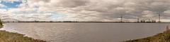 Widnes River Mersey Pano (sammys gallery) Tags: widnes runcornbridge river mersey merseygateway england unitedkingdom sea water bridge