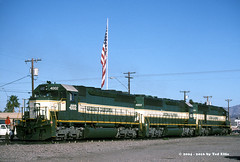 A&C_4002g_Parker_AZ_3-7-2004 (Frater Operator) Tags: arizonacaliforniarr railroad train locomotive