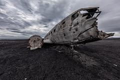Iceland - DC-3 Wreck (Jan Hoogendoorn) Tags: iceland ijsland vliegtuig airplane wrak wreck strand beach slheimasandur dc3