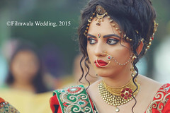 Perfect Capture of bride image (filmwalawedding) Tags: bride bridetobe bridedress pose weddingphotographer photographer creativecapture perfectclick bestphotographer