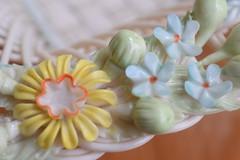 heirloom (abbigail may) Tags: glass macro ireland white blue grin orange yellow fragile floral beleek macromondays handlewithcare