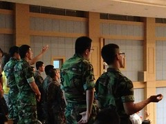 Korean Soldiers at Worship Night