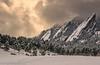 F L A T I R O N S (Silent G Photography) Tags: winter snow storm fog nikon colorado boulder telephoto adobe nik nikkor 70200 flatirons 2012 lightroom reallyrightstuff rrs lr4 d7000 markgvazdinskas silentgphotography tqc14 bh30lr silentgphoto