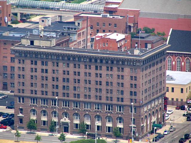 Cincinnati From Above #18: YMCA Building