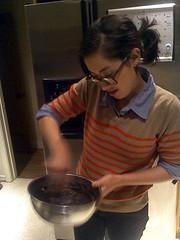 Ellen's Dacquoise (jjldickinson) Tags: food cooking cake dessert chocolate longbeach pastry wrigley meringue dacquoise ellendickinson casiogzonerock