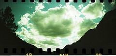 Bowl of clouds on film