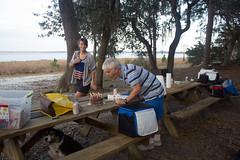 Dad's Birthday (Foxcek) Tags: birthday lake dogs animals sheepdog pug celebration dads louisa