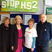 Cheryl opens the Stop HS2 shop in Amersham