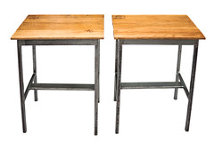"Oak Top End Tables • <a style=""font-size:0.8em;"" href=""http://www.flickr.com/photos/80301931@N08/8467386408/"" target=""_blank"">View on Flickr</a>"