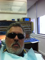 In the Dentist Chair (sfPhotocraft) Tags: philadelphia me sunglasses beard dentist 2012