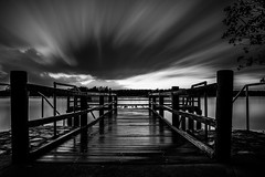DSC_5329.jpg (voidnaught) Tags: blackandwhite beach clouds river pier big nikon jetty australia brisbane lee filters stopper d4 longexsposure nudgee tamaron