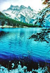 Lake Minnewanka (??), Banff National Park, Alberta, Canada - NK1011 (photos by Bob V) Tags: lake mountains rockies alberta banff rockymountains mountainlake albertacanada banffnationalpark lakeminnewanka canadianrockies banffalberta banffpark cans2s