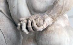 Lysippos, Farnese Hercules, right hand