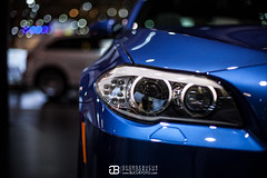 IMG_7812 (George.Bucur) Tags: auto show blue red 2 orange detail canon lights media day bokeh shots head mark metallic f14 melbourne f10 canadian international ii bmw 5d carlo mm usm monte 50 m5 f12 sakir 2013 bokehlicious x5m