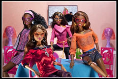 New Girls: SIS Baby Phat Grace, Chandra, Marisa and Kara (aneky43251) Tags: aneky43251 barbiesoinstyle