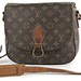 3024. Monogram Canvas Saddle Bag, Louis Vuitton