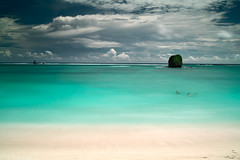 A tropical swim (tsiklonaut) Tags: ocean travel white holiday seascape motion beach wet water swimming swim season indonesia island bay seaside big high still sand bath asia waves indian south tide low vivid sigma wave southern rainy lee experience tropical tropic southeast motionless lombok tropics cpl kuta stopper discover foveon kute x3 polariser   dp2 gnd   heliopan       shpmc dp2s lombokian