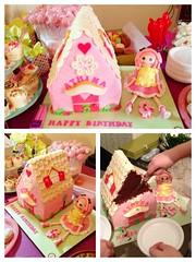 Lalaloupsy Doll and house cake