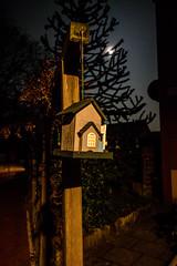 Small House (Marco Gro') Tags: moon house night mond nightshot nacht sony haus nachtaufnahme vollmond rx100 sonyrx100