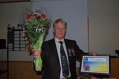 """Årsfest 2012. Johannes er den stolte mottaker av årets Rosenqvist • <a style=""""font-size:0.8em;"""" href=""""http://www.flickr.com/photos/93335972@N07/8517075830/"""" target=""""_blank"""">View on Flickr</a>"""