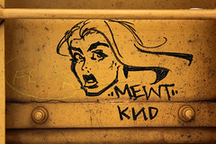 Mewt (TheBrainDead) Tags: art car train photography graffiti streak box drawing painted rail braindead ttx moniker knd mewt