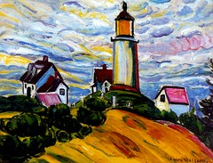 Malfatti, Anita (1889-1964) - 1915 Lighthouse (Private Collection) (RasMarley) Tags: lighthouse female buildings landscape painter expressionism brazilian 1910s 20thcentury 1915 privatecollection fauvism malfatti anitamalfatti