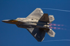 F-22 Raptor {Explored} (GTFalcon351) Tags: canon 22 airshow raptor f f22 f56 avalon 400mm 2013 60d