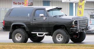 Big Black Ramcharger