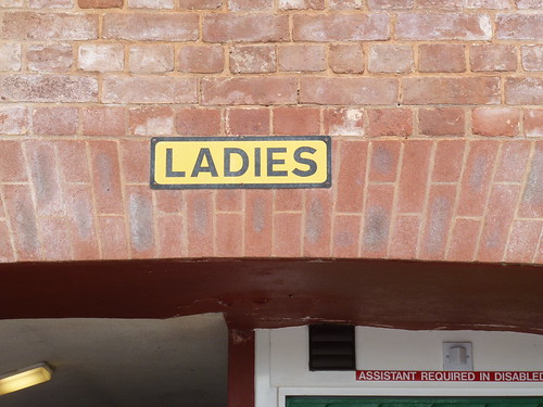 LADIES sign, Exeter, Devon
