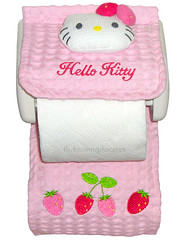 Hello Kitty Strawberry Toilet Paper Holder Cover (pkoceres) Tags: japan strawberry hellokitty kitty 1999 sanrio        hellokittystrawberry