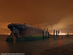 Night Time Wreck (Explored) - Riverside CP (Daveyboy_75) Tags: park longexposure nightphotography lightpainting river boat kent ship waterfront riverside country olympus estuary shipwreck wreck medway hdr boatwreck rivermedway horridhill riversidecountrypark olympusdslr e450 medwayestuary abandonedneglected olympuse450 medwaywaterfront
