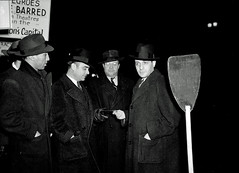 Picket at RKO Keith Theater: 1940 (washington_area_spark) Tags: dc washington theater district protest harry jim s columbia national crow truman 1947 picket 1946 segregation
