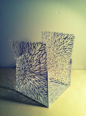 Cut Paper Structure - Leaves (all things paper) Tags: paper cutting