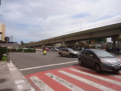 Viaduto sobre Av Carioca Vila Velha - ES (4) (jemaambiental) Tags: street car avenida carro perspectiva rua avenue viaduto contruo
