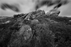 The Roaches (HamishForbes) Tags: white black long exposure district derbyshire peak staffordshire dales gritstone roaches