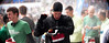 Job well done!!! (Shalin Nijel) Tags: black rain reading time marathon air watch crowd line stop half punch runner finishing shalin 2013 nijel