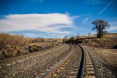Tracks (Lady Pandacat) Tags: california pentax traintracks tehachapi pandacat 2013 tinaangel