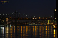 Queensboro Bridge (wyojones) Tags: newyorkcity bridge usa newyork night buildings reflections lights manhattan eastriver np rooseveltisland carlschurzpark blackwellsisland queenborobridge welfareisland fdrexpressway wyojones edkochqueenborobtidge