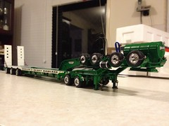 Doolans 3x8 swingwing (atkinson3800) Tags: white green model low wing drop swing deck drake dolly float loader diecast swingwing 2x8 3x8 doolans uploaded:by=flickrmobile flickriosapp:filter=nofilter