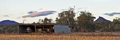 Flinders Ranges (John Parkinson) Tags: ranges flinders quorn devilspeak flindersranges kx farmmachinery pentaxkx elementsorganizer