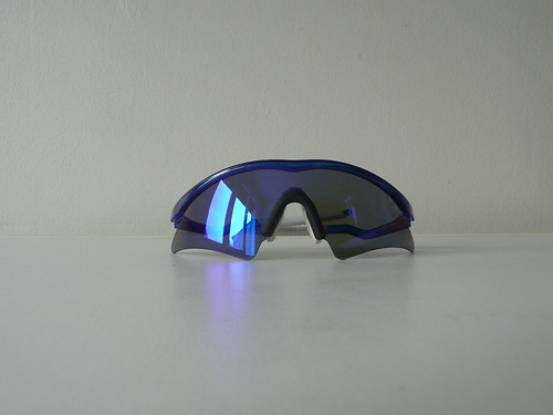 20f4fe614d8 OAKLEY M FRAME MUMBO CRYSTAL BLUE BLUE IRIDIUM 1ST GEN - a photo on ...